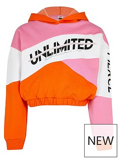 river-island-girls-colourblock-cropped-hoodie--nbsppink