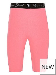 river-island-girls-new-waistband-cycling-short-pink