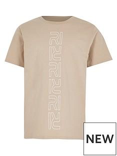 river-island-boys-verticle-logo-tshirt--stone