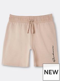 river-island-boys-logo-jog-shortsnbsp-nbspstone