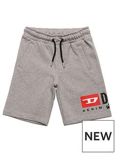 diesel-boys-cut-logo-jog-shorts-grey-marl