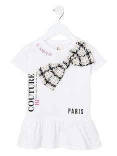 river-island-mini-girls-boucle-bow-t-shirt-dress--nbspwhite