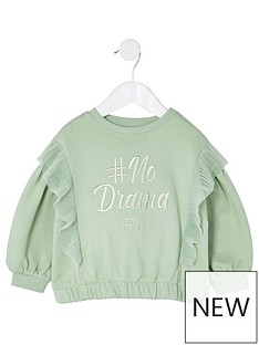 river-island-mini-girls-no-drama-frill-sweat--nbspkhaki