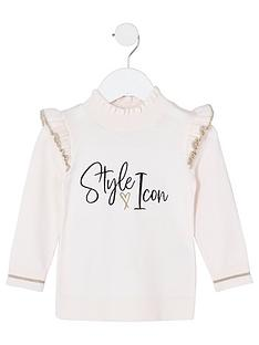 river-island-mini-girls-knitted-style-icon-jumper--nbsppink
