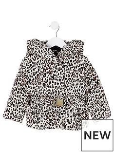 river-island-mini-mini-girls-belted-leopard-padded-coat--nbspbeige