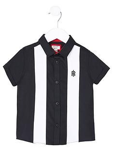 river-island-mini-mini-boys-colour-block-shirt--nbspnavy