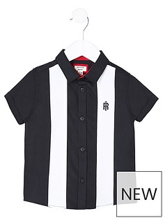 river-island-mini-mini-boys-colour-block-shirt--nbspnavy