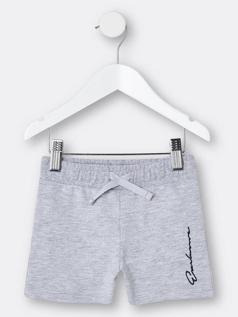 river-island-mini-mini-boys-logo-jog-shorts-grey