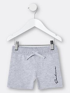 river-island-mini-mini-boys-logo-jog-shorts-grey