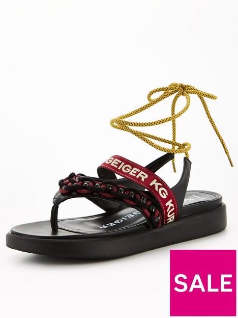 kg-ralley-embellished-flat-sandal--nbspblack