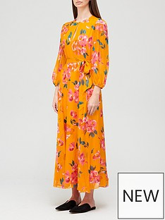 joie-emarie-floral-maxi-dress-orange