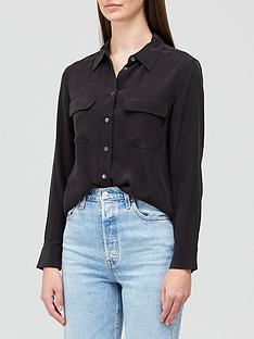 equipment-slim-signature-silk-shirt-black