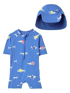 joules-baby-boys-sun-sharks-swim-set-with-hat-blue