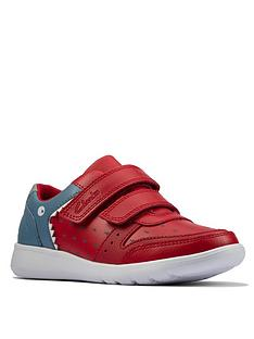 clarks-scape-scale-kid-shark-trainer-red