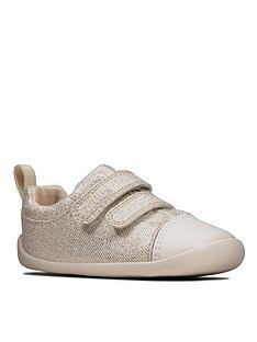 clarks-first-roamer-craft-canvas-shoe-silver