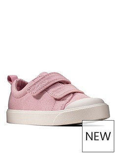 clarks-city-bright-toddler-canvas-plimsoll-pink