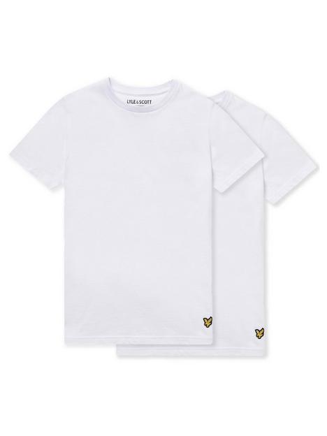lyle-scott-boys-2-pack-lounge-t-shirts-white