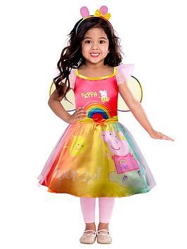 peppa-pig-girls-rainbow-dress