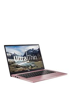 acer-swift-1-intel-pentium-4gb-ram-256gb-ssd-14in-full-hd-ips-laptop-with-optional-microsoft-m365-family-15-months-pink