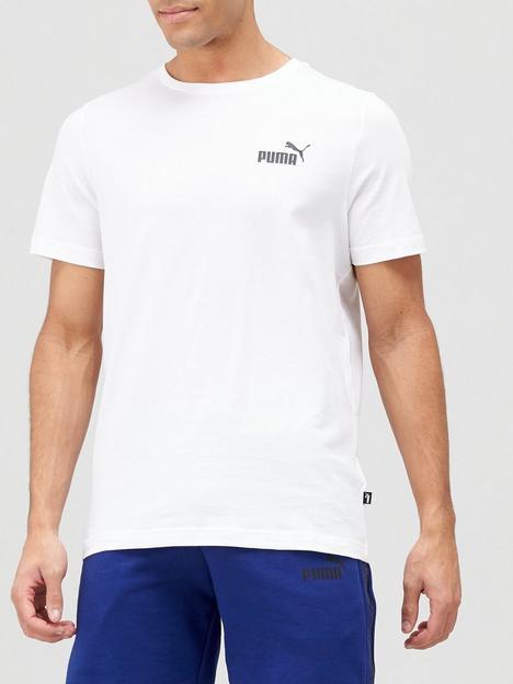 puma-essentials-small-logo-t-shirt-white
