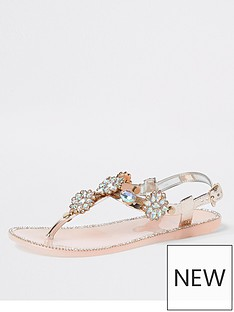 river-island-girls-embellished-toe-post-jelly-sandals--nbsprose-gold