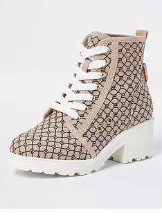 river-island-girls-monogram-lace-up-boots--nbspbeige