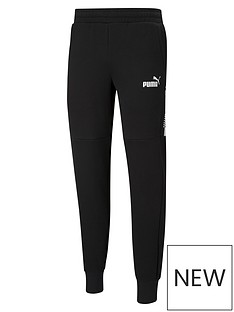 puma-amplified-fleece-pants-black