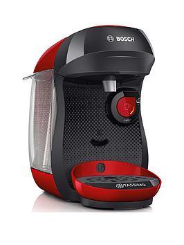 Tassimo Tassimo Tas1003Gb Happy Pod Coffee Machine - Red/Black