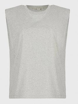 allsaints-coni-shoulder-padded-jersey-top-grey-marl