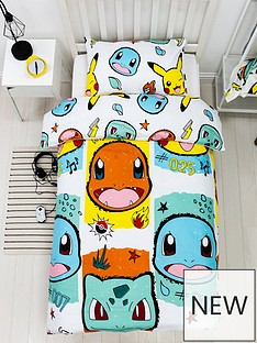 pokemon-rocks-singlenbspduvet-cover-set