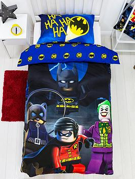 Lego Superheroes Challenge Single Duvet Cover Set