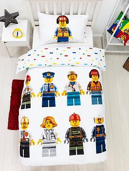 Lego City Hello Single Duvet Cover Set