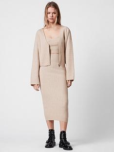 allsaints-enya-co-ord-knit-skirt-pink