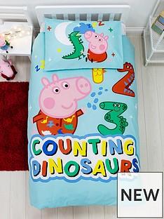 peppa-pig-george-counting-juniornbspduvet-covernbspsetnbsp