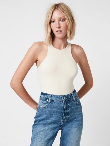 allsaints-jamie-bodysuit-white