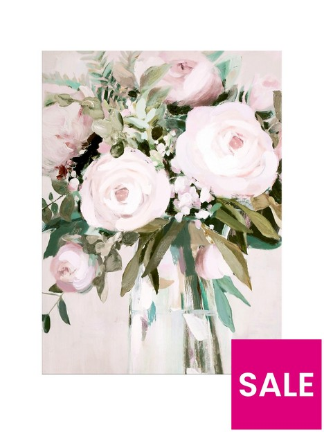 arthouse-floral-canvas-wall-art-with-hand-painted-detail