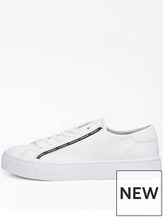 guess-logo-taped-sneaker-white