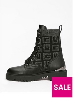 guess-guess-g-lace-up-boot-black