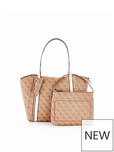 guess-naya-logo-tote-with-pouch-bag-latte