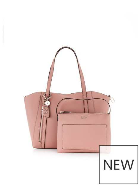 guess-naya-logo-tote-with-pouch-bag-rosewood