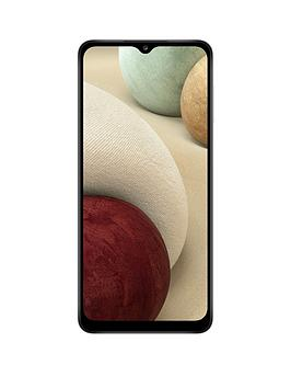 Samsung Galaxy A12 SIM Free Android Smartphone White (UK Version)