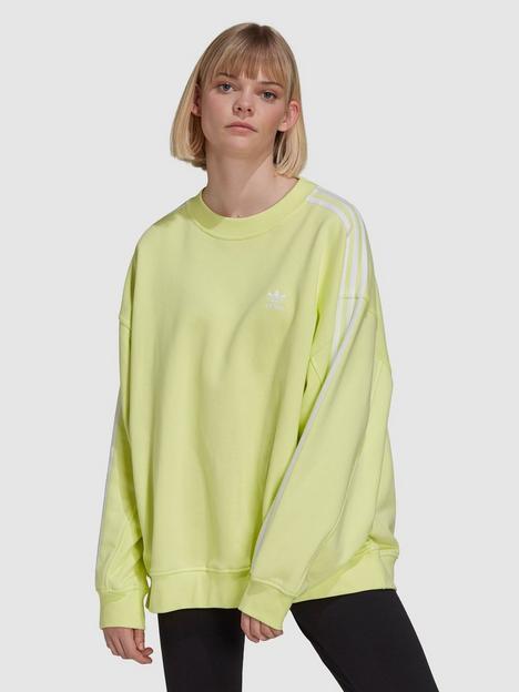 adidas-originals-oversized-sweatshirt-yellow