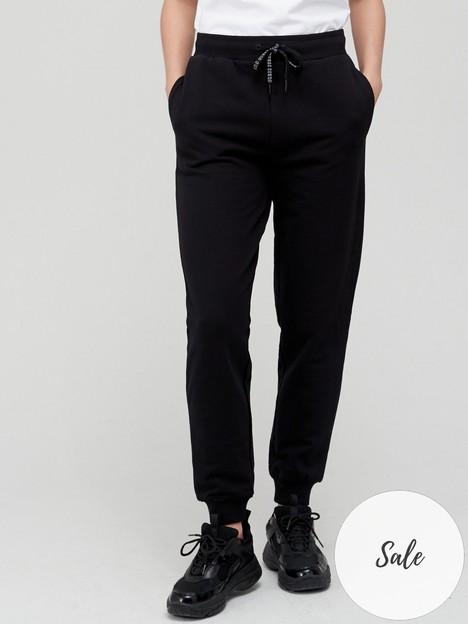 guess-cuffed-jogger-black