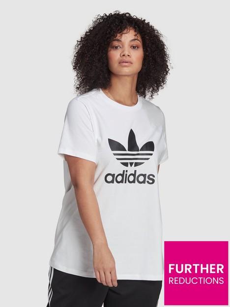 adidas-originals-trefoil-t-shirtnbspplus-size-white