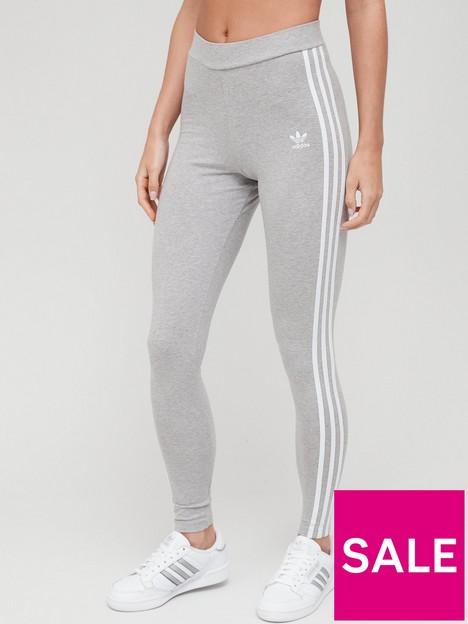 adidas-originals-3-stripes-leggings-greywhite