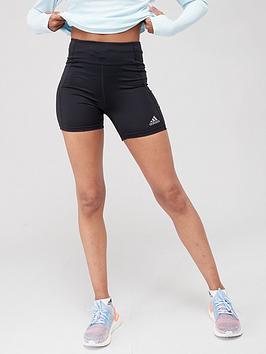 adidas-own-the-run-short-tights-black