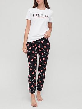 v-by-very-sweet-life-jogger-pyjamas-conversational-print