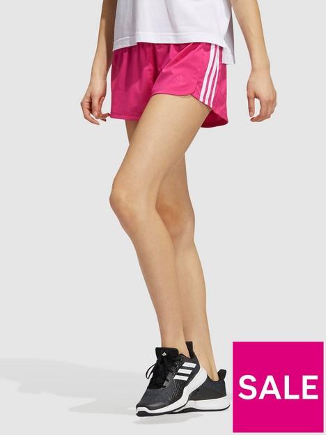 adidas-pacer-3-stripesnbspwoven-shorts-pinkwhite