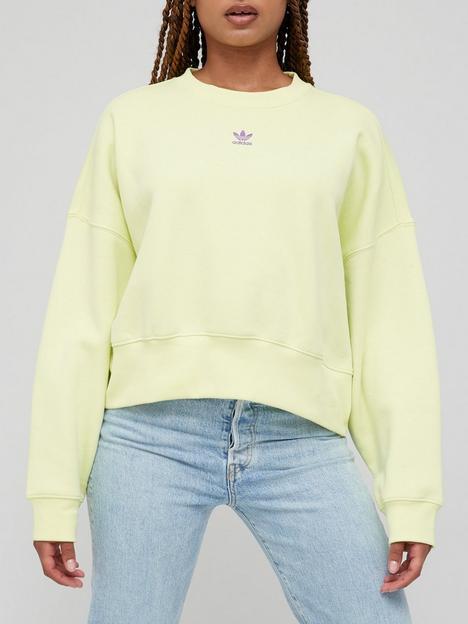 adidas-originals-sweatshirt-yellow