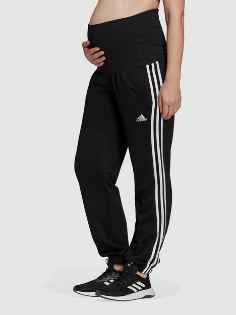 adidas-essentials-maternity-sweatnbsppants-blackwhite